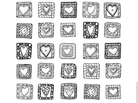 Heart Coloring (1)
