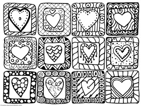 Heart Coloring (4)