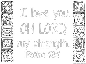 Love Bible Verse Coloring (1)