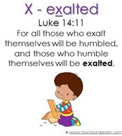 Raising Lil' Rock Stars Letter X is for eXalted