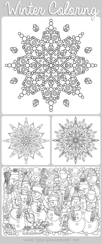 January Coloring Pages – coloring.rocks! | 843x355