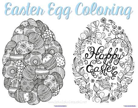 Easter Egg Coloring FB