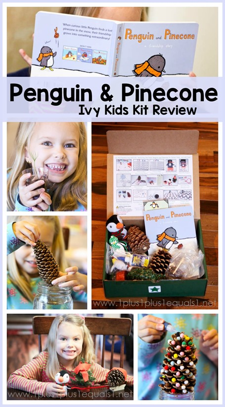 Penguin and Pinecone Unit Study with Ivy Kids Kits