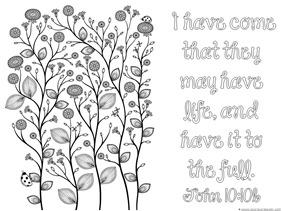 Spring Bible Verse Coloring (3)