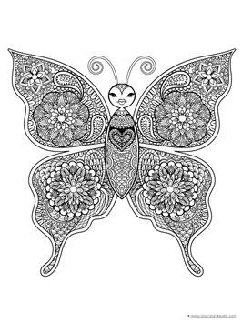 Butterfly Coloring (11)