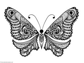 Butterfly Coloring (3)
