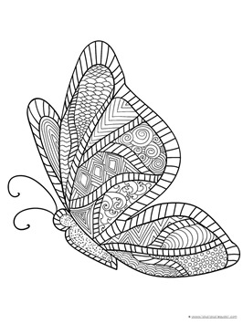 Butterfly Coloring (8)