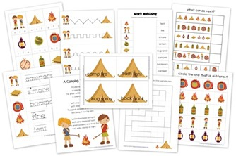 Camping Pack from Homeschool Creations