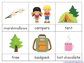 Camping Theme Preschool Printables (13)