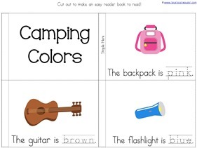 Camping Theme Preschool Printables  (15)