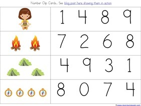 Camping Theme Preschool Printables (20)
