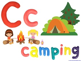 Camping Theme Preschool Printables  (4)
