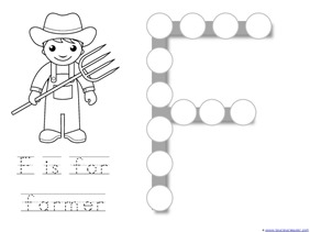 Community Helper Dot Fun Printables 1 1 1 1