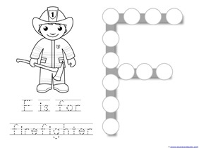 Community Helper Dot Fun Printables 1 1 1 1