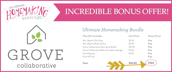 Grove Collaborative Bonus Offer