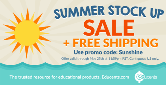 Educents Summer Sale