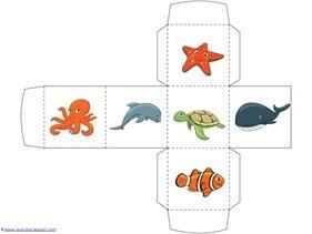 Ocean Animals Preschool Printables - 1+1+1=1