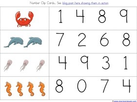 Ocean Animals Preschool Printables (22)