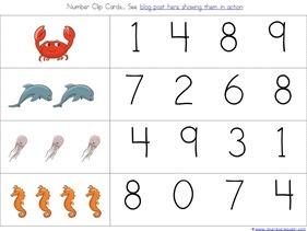 Ocean Animals Preschool Printables (22)
