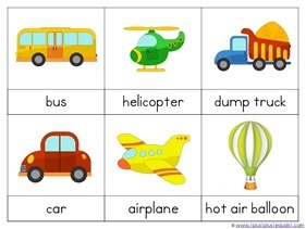 Transportation Preschool Printables (10)