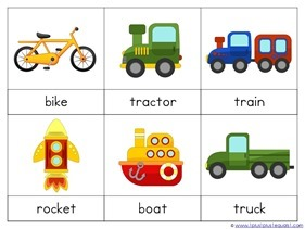 Transportation Preschool Printables (12)