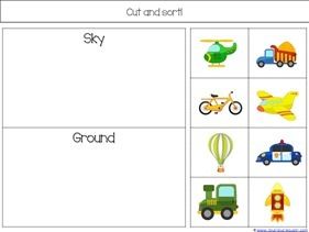 Transportation Preschool Printables (16)