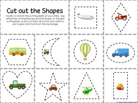 Transportation Preschool Printables (2)