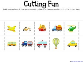 Transportation Preschool Printables (4)