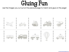 Transportation Preschool Printables (5)
