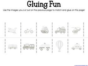 Transportation Preschool Printables (5)