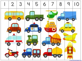 Transportation Preschool Printables (6)