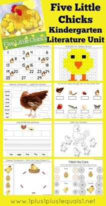 Five Little Chicks Kindergarten Literature Unit
