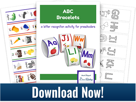 Printable ABC Bracelets