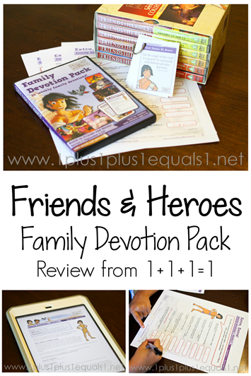 Friends and Heroes Family Devotion Pack Review