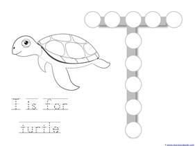 Ocean Animals Dot Fun Printables (8)