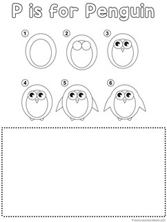 Penguin Drawing Tutorial
