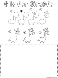Giraffe Drawing Tutorial