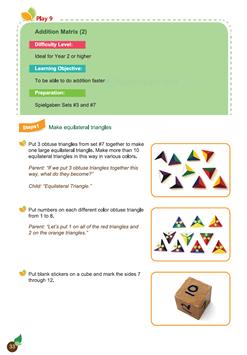 Spielgaben Math Play 9 Addition Matrix