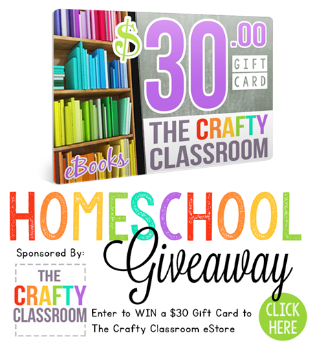 The Crafty Classroom Giveaway