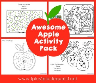 Apple Activity Pack