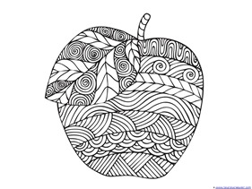 Apple Coloring (3)