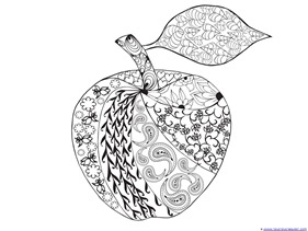 Apple Coloring (4)