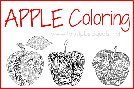 Apple Coloring