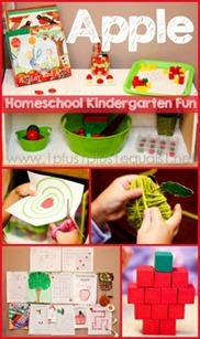 Apple-Theme-Homeschool-Kindergarten-