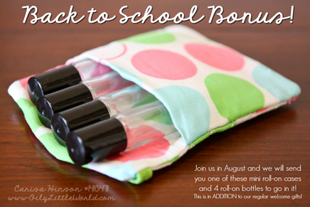 Back to School Essential Oil Gift