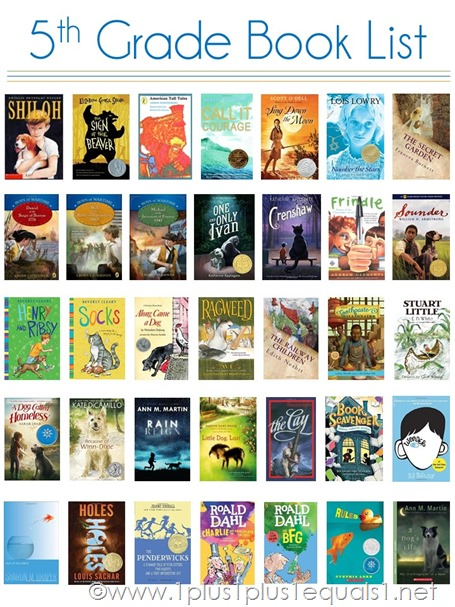 5th Grade Reading List