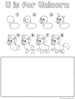 Unicorn Drawing Tutorial