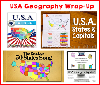 USA Geography Wrap Up