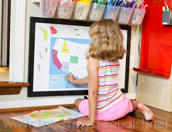 USA Map Wall Play Set -4869