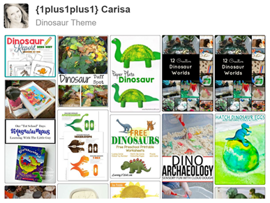 Dinosaur Pinterest Board